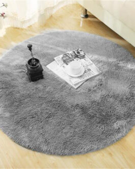 Fluffy Round Rug Faux Fur Carpet For Bedroom Living Room Long Soft Plush Kids Room Perfect Home Decor Mat