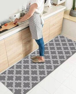 Beautiful Kitchen Bathroom Non-Slip Washable Floor Mat Living Room Bedroom Bed Side Rug Waterproof Carpet