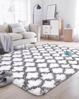 Nordic Style Plush Carpet For Living Room 4CM Long Pile Velvet Home Decor Fluffy Rug Bedroom Foor Mat