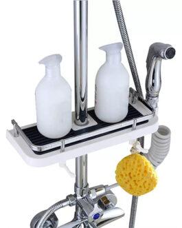 Bathroom Accessory Shampoo Bottles Tray Shower Head Holder Adjustable Soap Shelf Bathroom Organizer